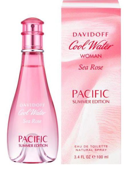 Davidoff Cool Water Sea Rose Pacific Summer Edition Eau de Toilette 100ml