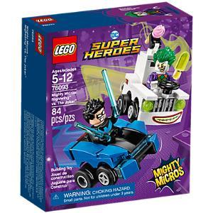 Lego DC Comics Super Heroes 76093 Mighty Micros: Nightwing contro The Joker