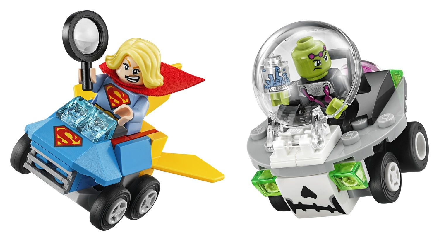 Lego DC Comics Super Heroes 76094 Mighty Micros: Supergirl contro Brainiac