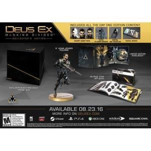 Square Enix Deus Ex Mankind Divided - Collector's Edition
