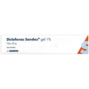 Sandoz Diclofenac gel 50g 1%