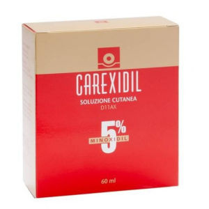 Difa Cooper Carexidil soluzione cutanea 5% 3 flaconi 60ml