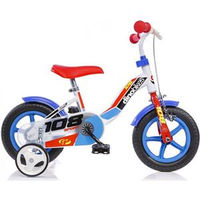 """Dino Bikes Dino Bicicletta 10"""" Con Freno Anteriore (108FL-0506)"""