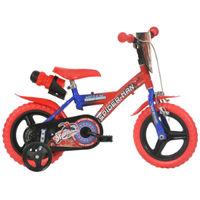 """Dino Bikes Spiderman 12"""" (123GLN SA)"""