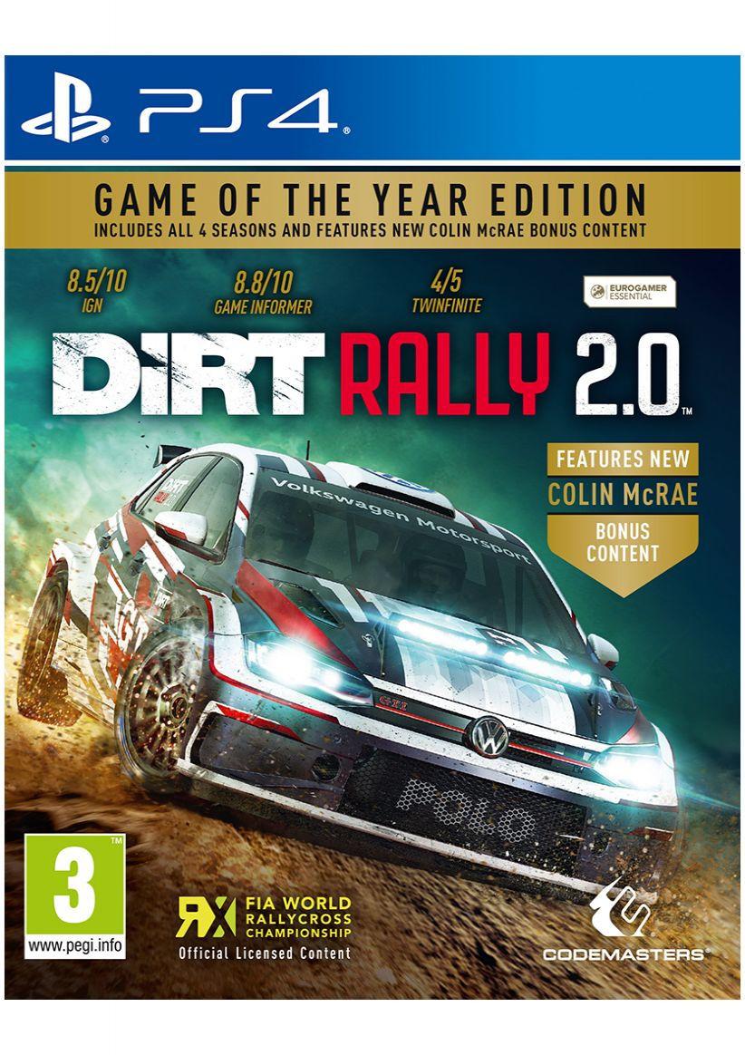 Codemasters DiRT Rally 2.0 GOTY