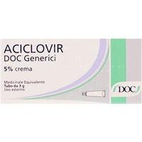 DOC Generici Aciclovir crema 5% 3g