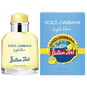 Dolce & Gabbana Light Blue Italian Zest Pour Homme 125ml