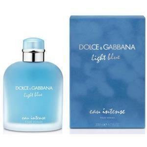 Dolce gabbana light blue eau intense pour homme 200ml