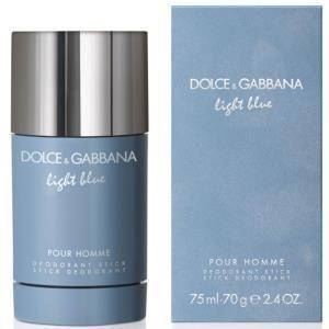 Dolce gabbana light blue pour homme deodorante stick 75ml