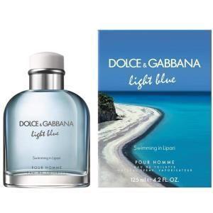 Dolce gabbana light blue swimming in lipari 125ml