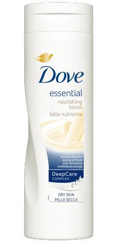Dove Essential Nourishment Latte Nutriente 400ml