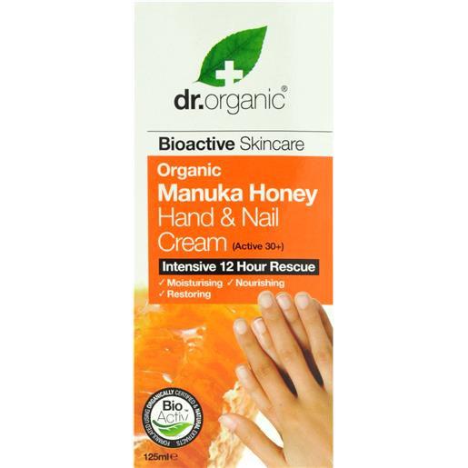 Dr. Organic Organic Manuka Honey Crema Mani e Unghie 125ml