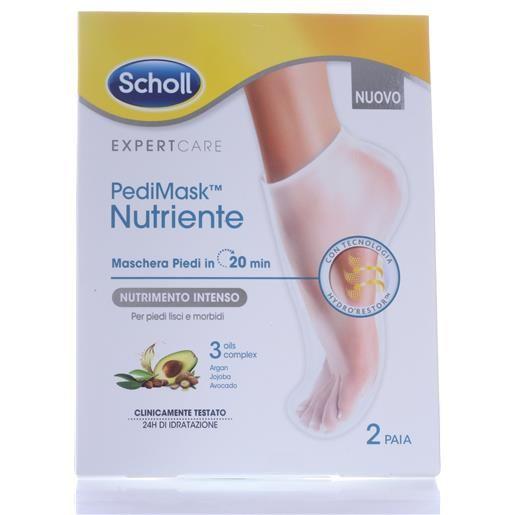 Dr. Scholl Pedimask Nutriente 2paia