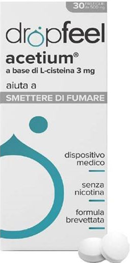Difar Distribuzione Dropfeel acetium 30 pastiglie orosolubili