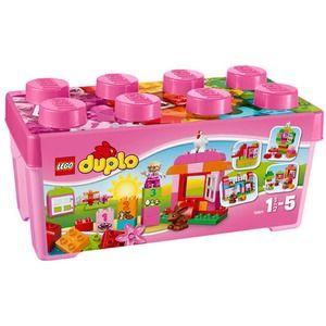 Duplo 10571 scatola costruzioni rosa tutto in uno