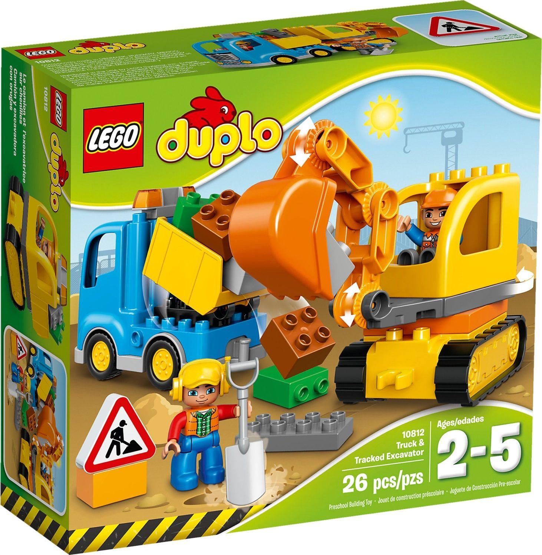 Lego Duplo 10812 Camion e Scavatrice Cingolata