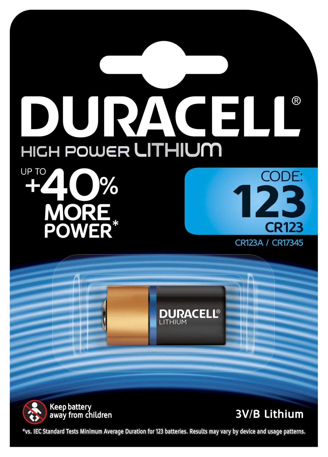 Duracell High Power Lithium 123 CR123A (1 pz)