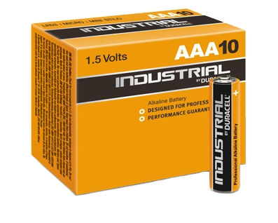 Duracell Industrial AAA (10 pz)