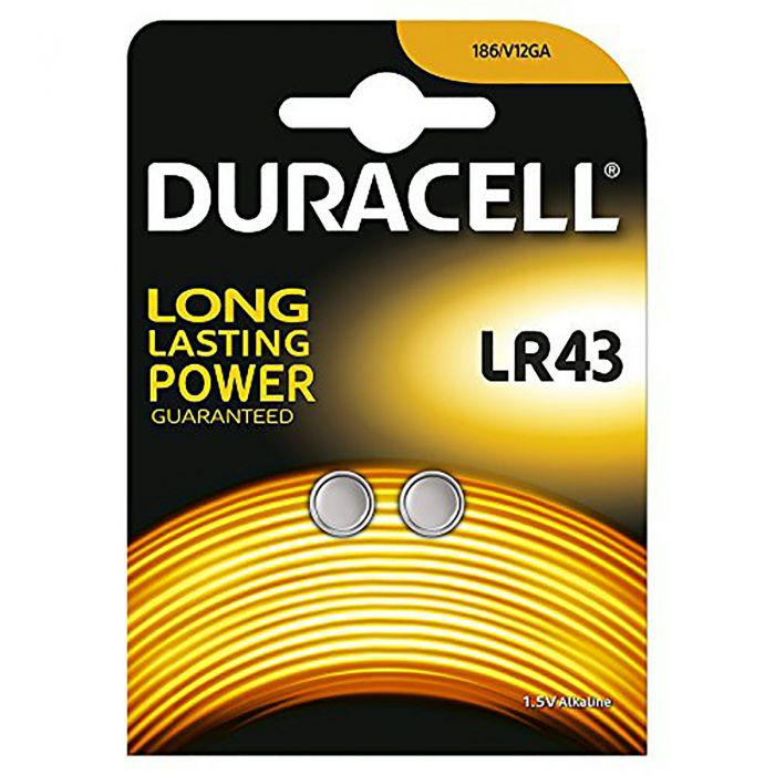 Duracell LR43 SR43 (2 pz)