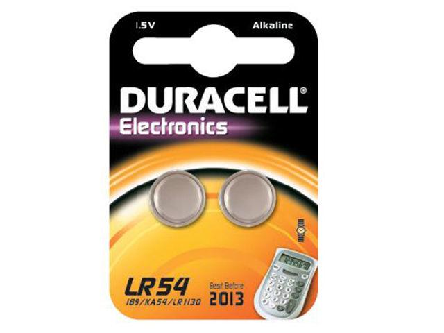 Duracell LR54 SR54 (2 pz)