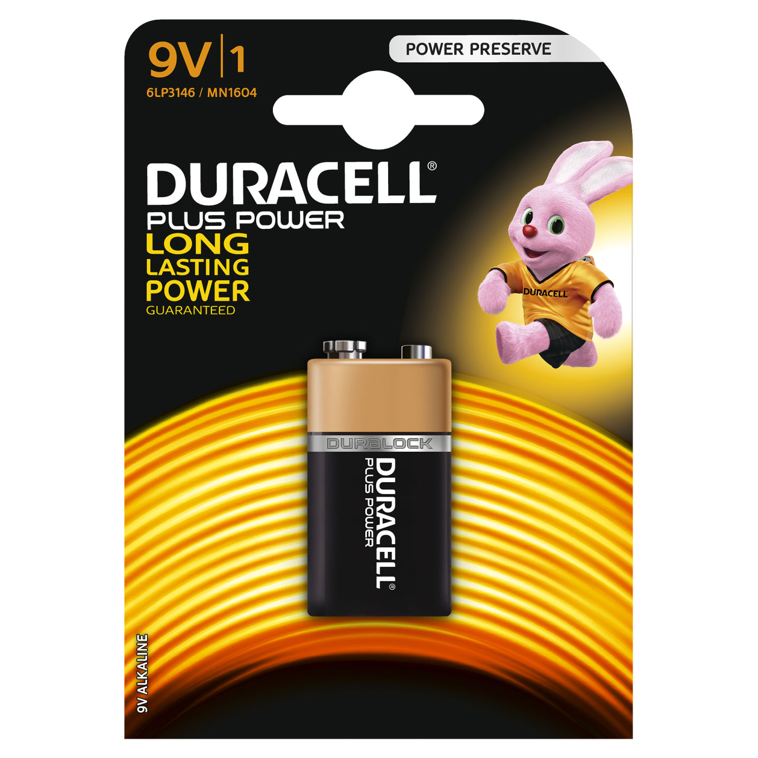 Duracell Plus Power 9V (1 pz)