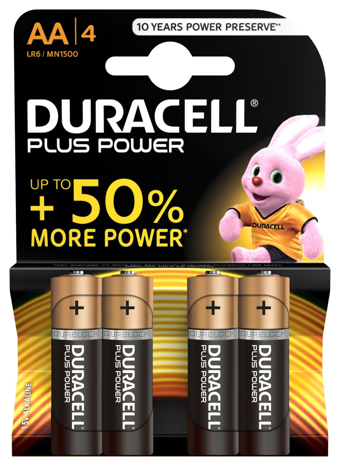 Duracell Plus Power AA (4 pz)