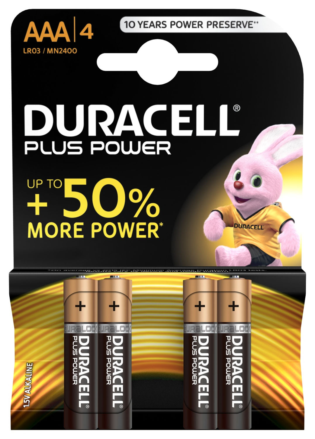 Duracell Plus Power AAA (4 pz)