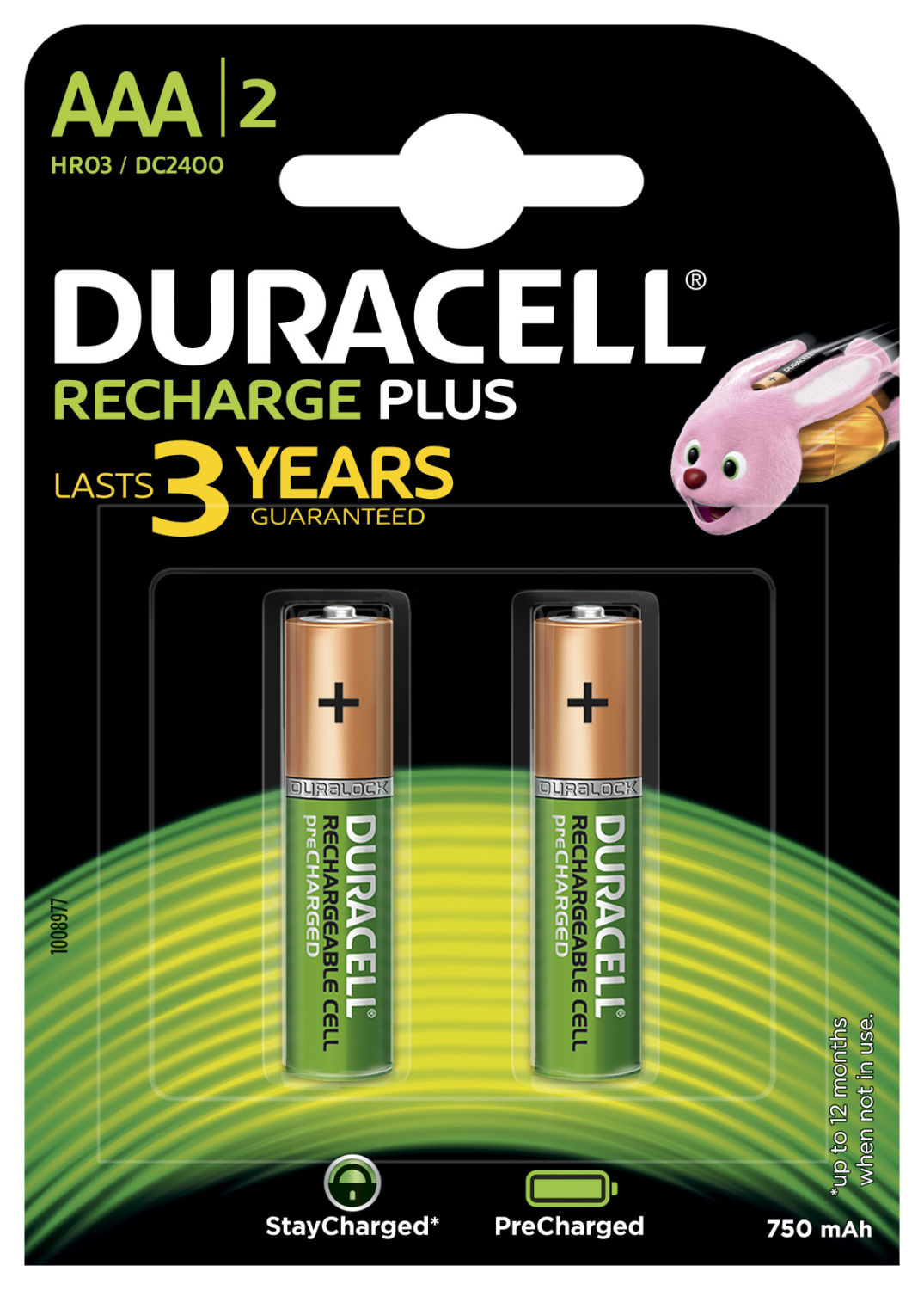 Duracell Recharge Plus AAA (2 pz)