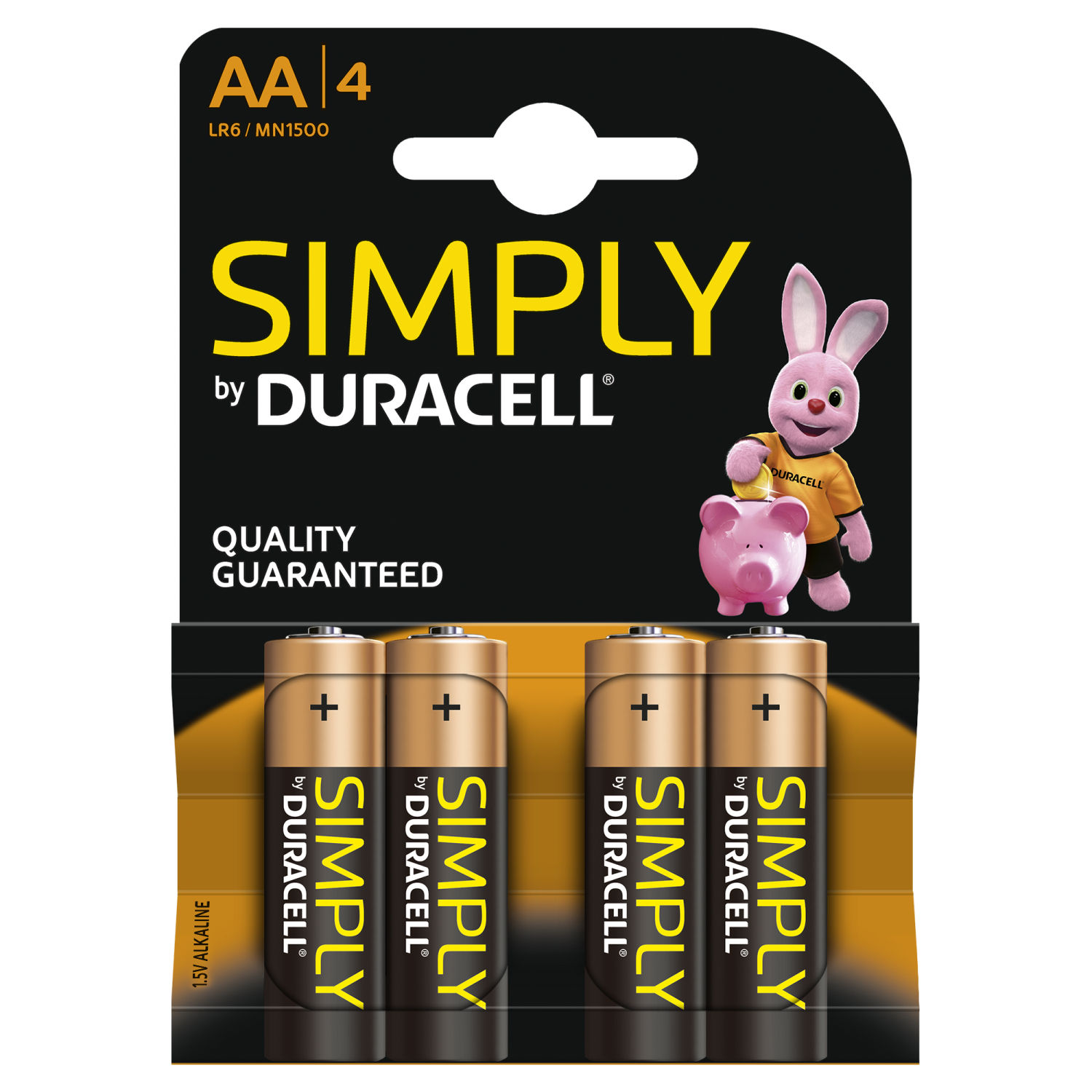 Duracell Simply AA (4 pz)