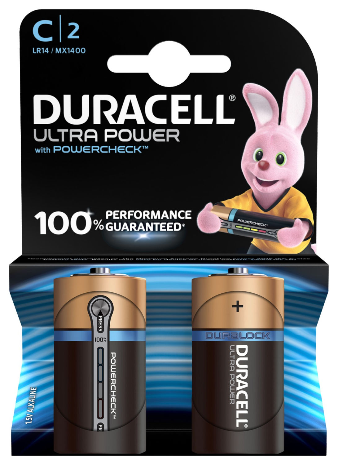Duracell Ultra Power C (2 pz)