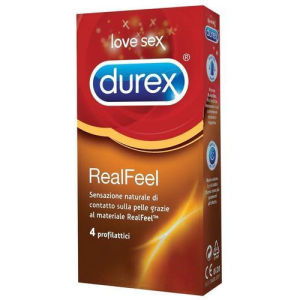 Durex Real Feel (4 pz)