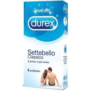 Durex settebello classico preservativi