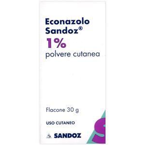Sandoz Econazolo polvere cutanea 30g 1%