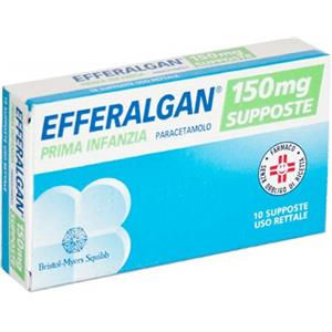 Bristol-Myers Squibb Efferalgan 10supposte 150mg