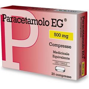 EG Paracetamolo EG 20 compresse 500mg