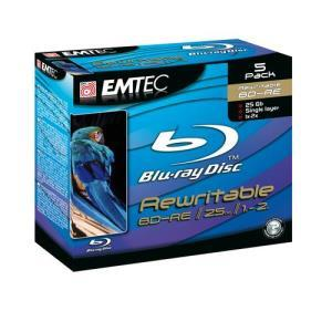 Emtec BD-RE 25 GB 2x (5 pcs)
