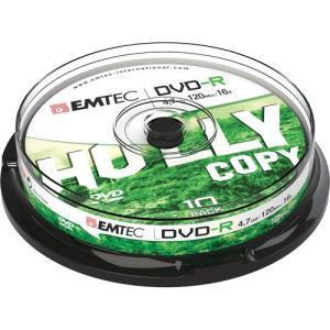 Emtec DVD-R 4.7 GB (10 pcs)