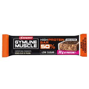 enervit gymline muscle high protein bar 50