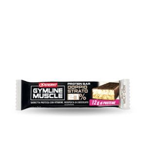 Enervit gymline muscle protein bar 27 doppio strato