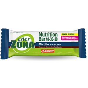 EnerZona Nutrition Bar 40-30-30 Mirtillo e Cacao