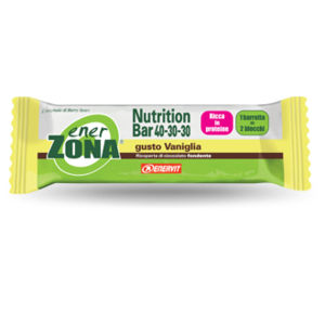 EnerZona Nutrition Bar 40-30-30 Vaniglia