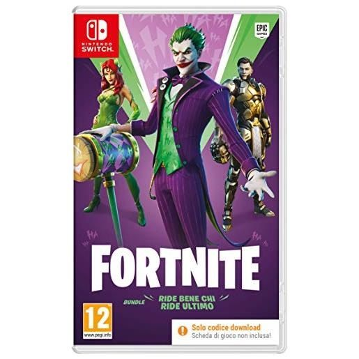 Epic Games Fortnite: Ride Bene Chi Ride Ultimo Switch