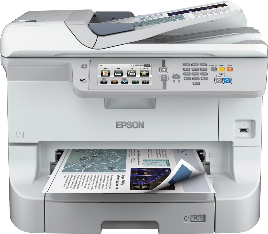 Epson workforce pro wf 8510dwf