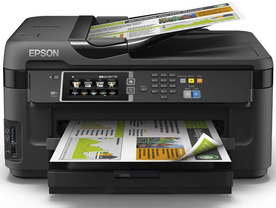 Epson workforce wf 7610dwf
