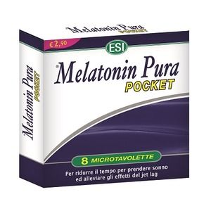 Esi Melatonin Pura Pocket 8microtavolette