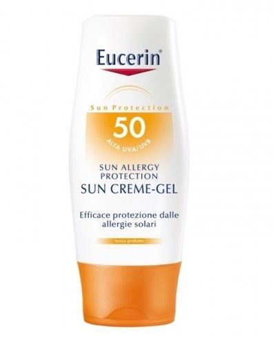 Eucerin Allergy Protect Sun Creme-Gel Solare SPF50 150ml