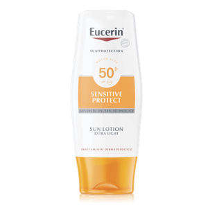 Eucerin Sensitive Protect Sun Lotion Extra Leggera SPF50+