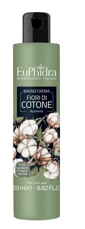 EuPhidra Bagno Crema Fiori di Cotone 250ml