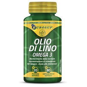 Eurosup olio di lino omega3 a 9,54 € | il prezzo più basso su ...