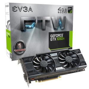 EVGA GeForce GTX 1050 Ti FTW GAMING ACX 3.0 4GB